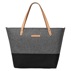 DOWNTOWN TOTE- GRAPHITE/BLACK from Flowers by Ramon of Lawton, OK