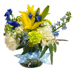 Handsome in Blue from Flowers by Ramon of Lawton, OK