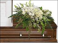 GARDEN ELEGANCE CASKET SPRAY from Flowers by Ramon of Lawton, OK