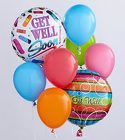 The Get Well Balloon Bunch from Flowers by Ramon of Lawton, OK