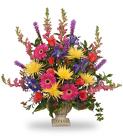COLORFUL CONDOLENCES TRIBUTE from Flowers by Ramon of Lawton, OK