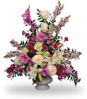 MAGENTA SUNSET URN from Flowers by Ramon of Lawton, OK