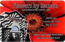 Flowers by Ramon Gift Card from Flowers by Ramon of Lawton, OK