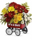 Baby's Wow Wagon - Girl from Flowers by Ramon of Lawton, OK