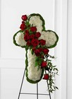 The FTD Floral Cross Easel from Flowers by Ramon of Lawton, OK