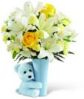 The FTD Baby Boy Big Hug Bouquet from Flowers by Ramon of Lawton, OK