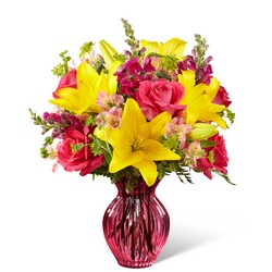 The FTD Happy Spring Bouquet from Flowers by Ramon of Lawton, OK
