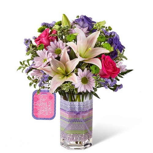 The FTD So Very Loved Bouquet by Hallmark
