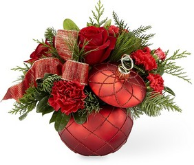 The FTD Christmas Magic Bouquet from Flowers by Ramon of Lawton, OK