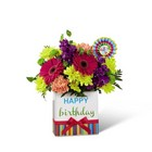 The FTD Birthday Brights Bouquet from Flowers by Ramon of Lawton, OK