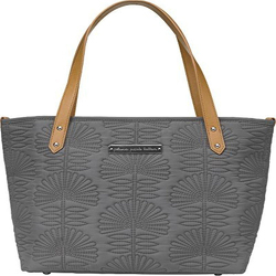 DOWNTOWN TOTE MINI- EMBOSSED GREY from Flowers by Ramon of Lawton, OK