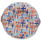 Pello - Snazzy Plaid Floor Pillow from Flowers by Ramon of Lawton, OK