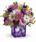 Teleflora's Dancing Violets Bouquet from Flowers by Ramon of Lawton, OK