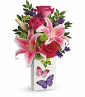 Teleflora's Brilliant Butterflies Bouquet from Flowers by Ramon of Lawton, OK