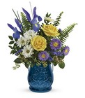 Teleflora's Sapphire Garden Bouquet from Flowers by Ramon of Lawton, OK