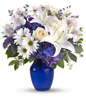 Beautiful in Blue from Flowers by Ramon of Lawton, OK