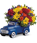 Teleflora's '48 Ford Pickup Bouquet from Flowers by Ramon of Lawton, OK