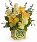 Teleflora's Shimmer Of Thanks Bouquet from Flowers by Ramon of Lawton, OK