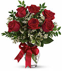 Thoughts of You Bouquet with Red Roses from Flowers by Ramon of Lawton, OK