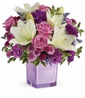 Pleasing Purple Bouquet from Flowers by Ramon of Lawton, OK