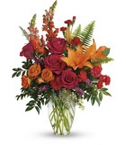Punch Of Color Bouquet from Flowers by Ramon of Lawton, OK