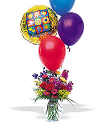 Balloons and a Boost from Flowers by Ramon of Lawton, OK