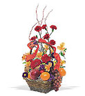 Fruits and Flowers Basket from Flowers by Ramon of Lawton, OK