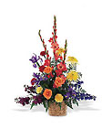 Rainbow Basket from Flowers by Ramon of Lawton, OK
