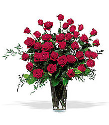 Three Dozen Red Roses from Flowers by Ramon of Lawton, OK