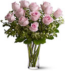A Dozen Pink Roses from Flowers by Ramon of Lawton, OK