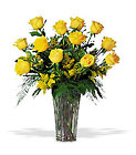 A Dozen Yellow Roses from Flowers by Ramon of Lawton, OK