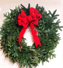 Fresh Christmas Wreath from Flowers by Ramon of Lawton, OK